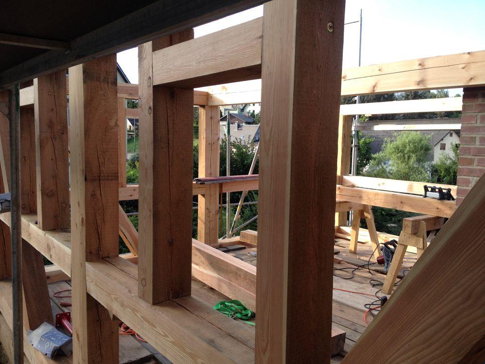 Anbauten und erg nzungen for Holz fachwerkhaus